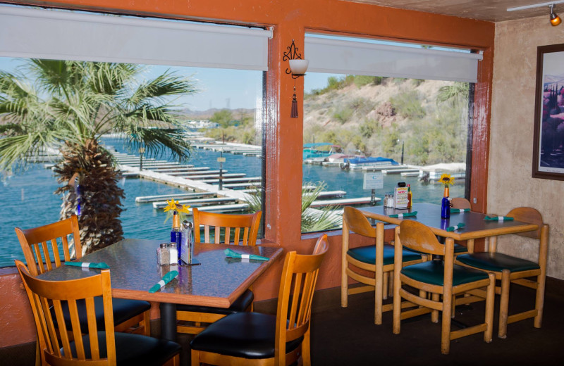 Dining at Havasu Springs Resort.