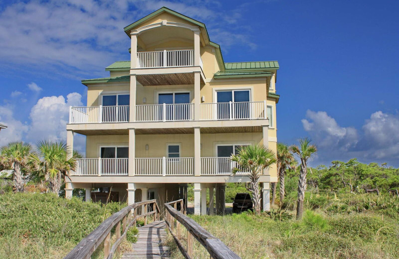 Rental exterior at Resort Vacation Properties of St. George Island.