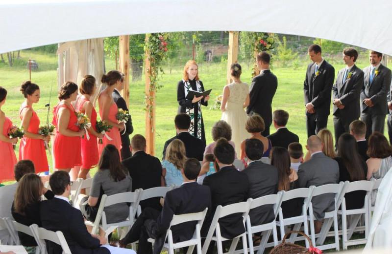 Wedding at Saddleback Lodge