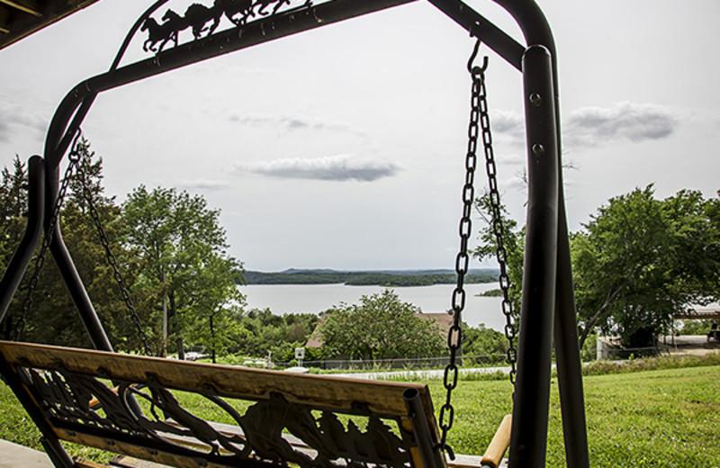Rental  lake view at Branson Vacation Houses.