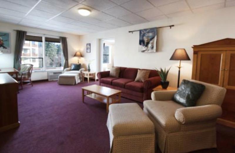 Suite Interior at Adventure Inn