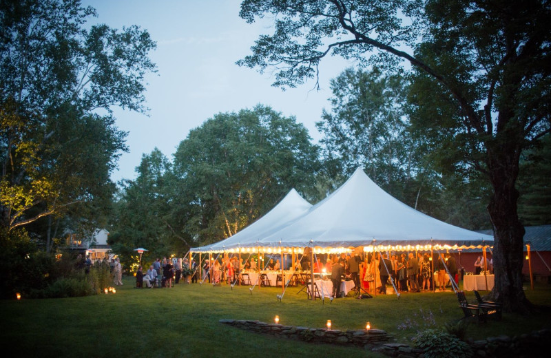 Weddings at Four Columns Inn.