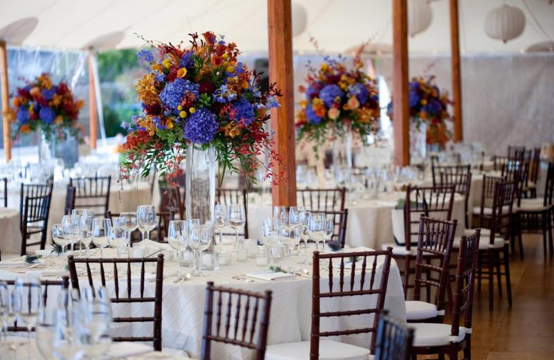 Wedding reception at Inn by the Sea.