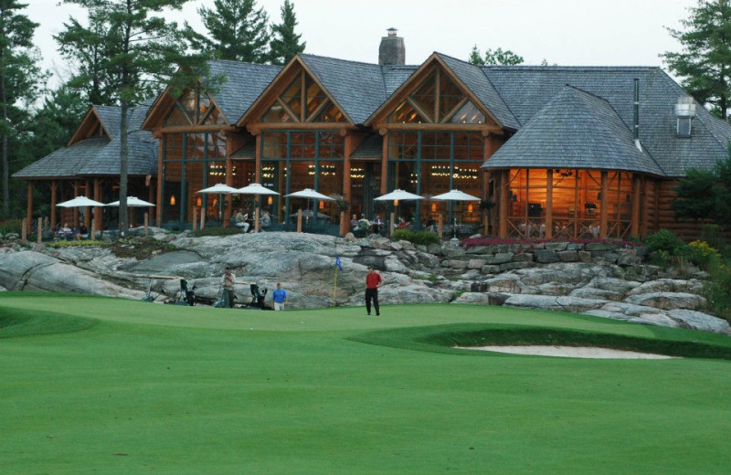 Golfing at Rocky Crest Golf Resort.