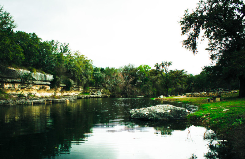 Pond at Flying L Hill Country Resort & Conference Center.