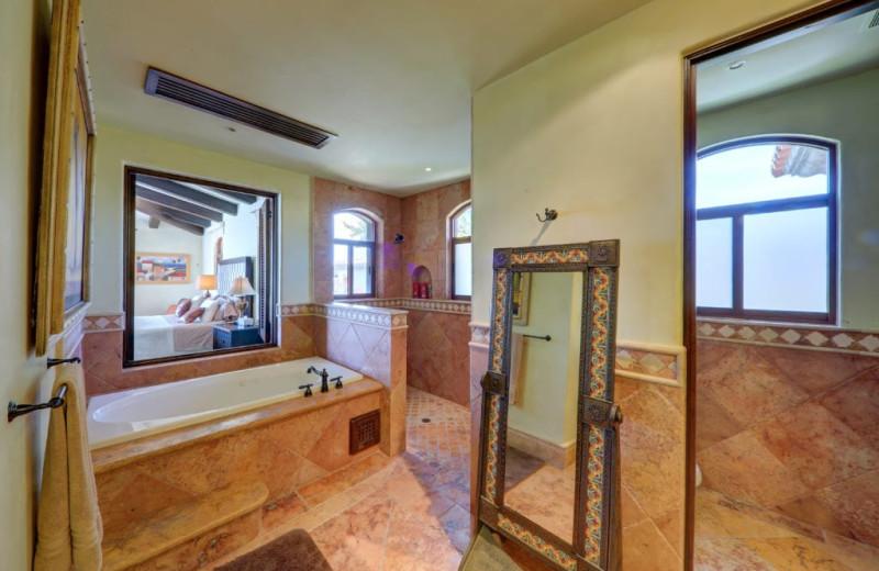 Bathroom at Casa Mar y Estrella.