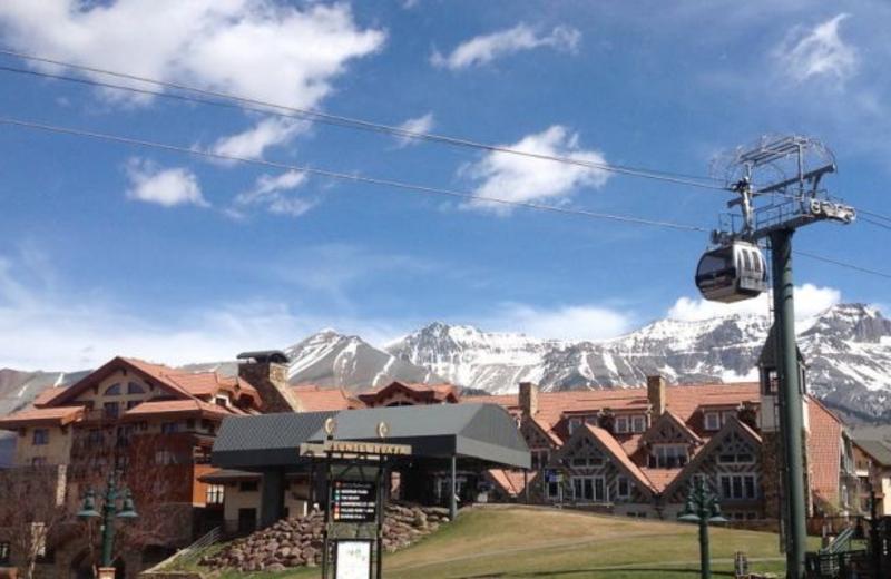 Ski lift at SkyRun Vacation Rentals - Vail, Colorado.