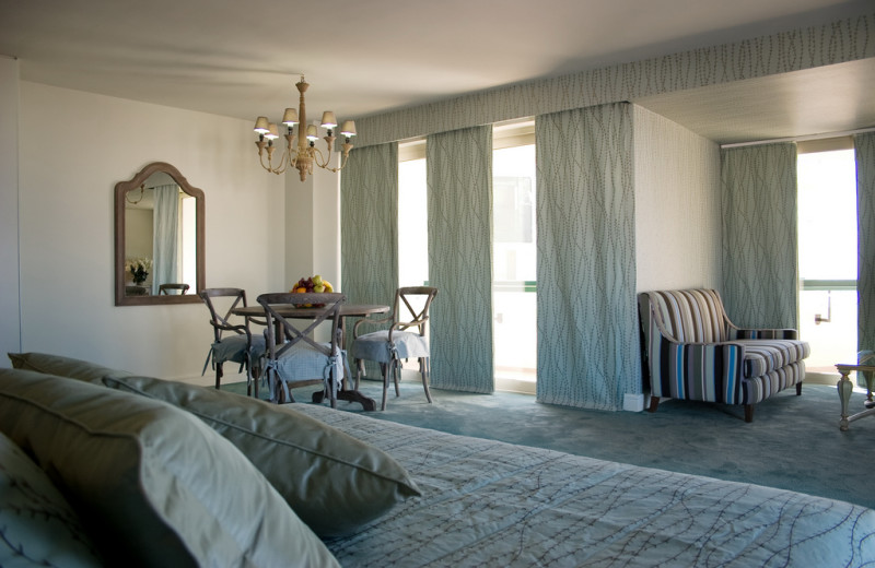 Guest room at Grecotel Porto Rethymno.