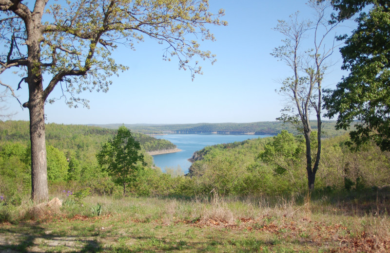 Scenic view near Copper John's Resort.