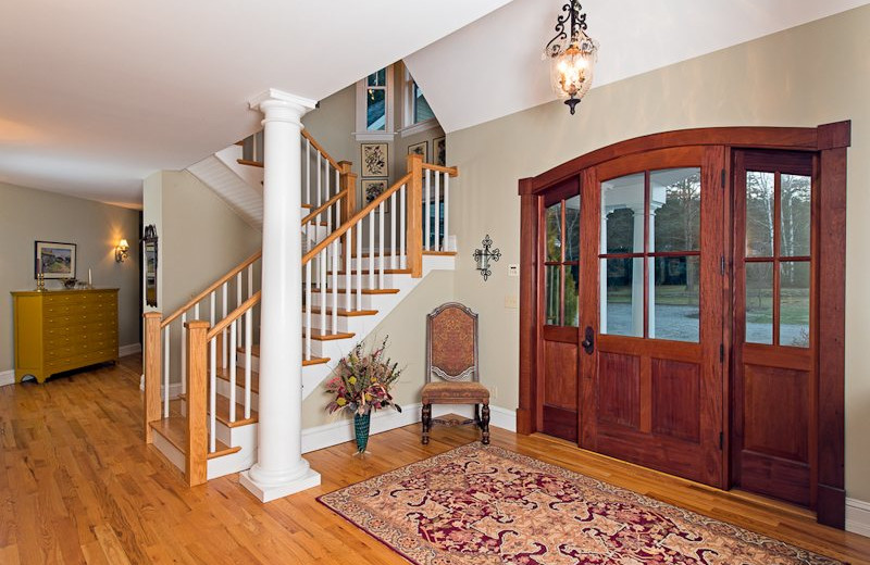 Vacation rental interior at Lake Placid Vacation Homes.