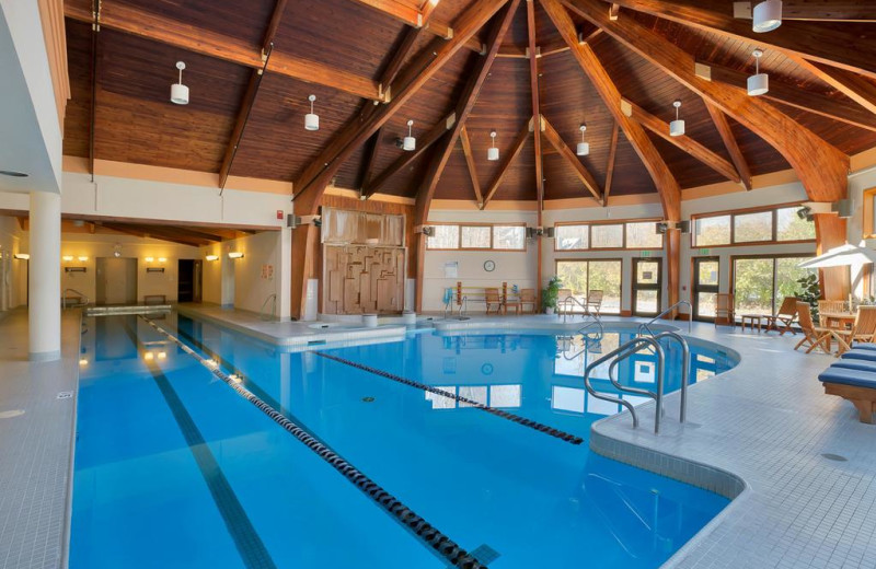 Rental pool at Killington Rental Associates.
