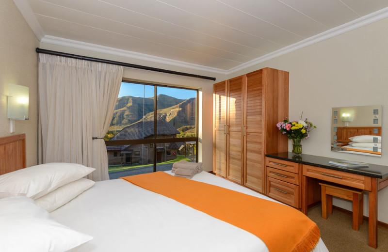 Guest room at Kiara Lodge.