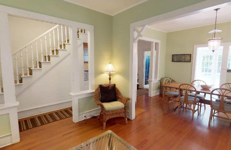Rental interior at Preferred Properties Key West.