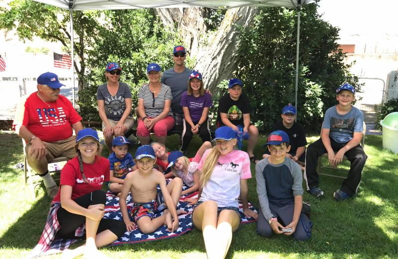 Group at Rankin Ranch.