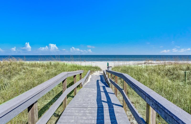 Beach view at Amelia Rentals and Management Services.