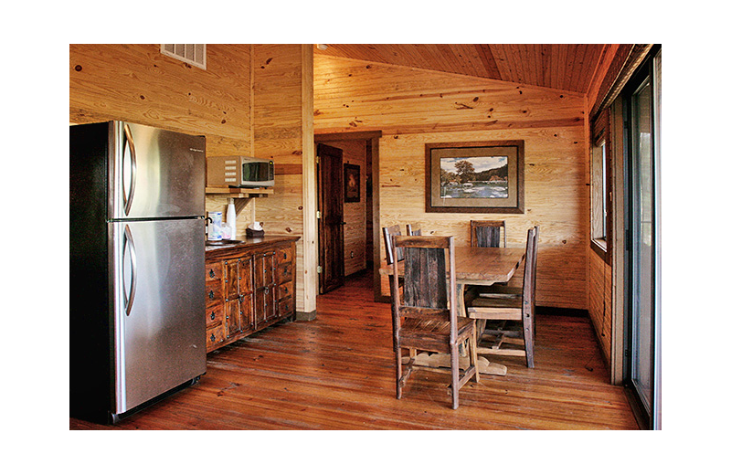 Guest kitchen at Hideout on the Horseshoe.