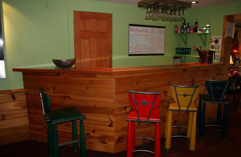Bar at The Arbor Inn.
