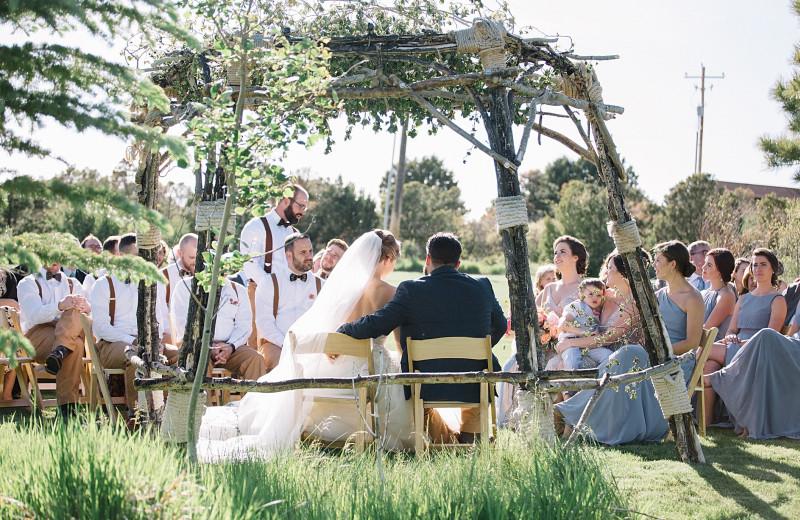 Weddings at Whispering Oaks Ranch.