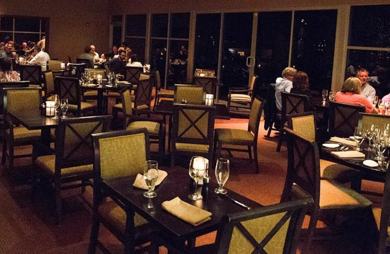 Dining at La Torretta Lake Resort & Spa.