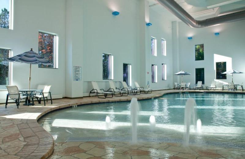 Indoor pool at St. Croix Casino & Hotel.