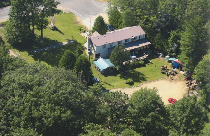 Aerial View of Loralea Country Inn Resort