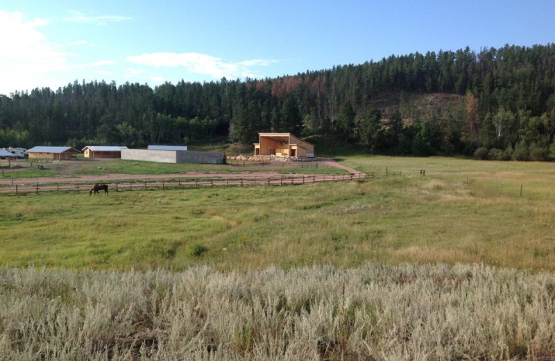 Exterior view of High Country Guest Ranch.