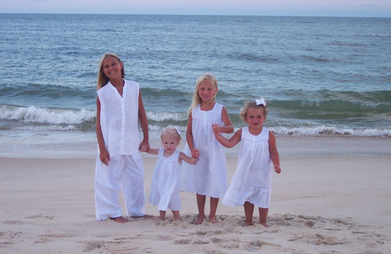Family at Resort Vacation Properties of St. George Island.