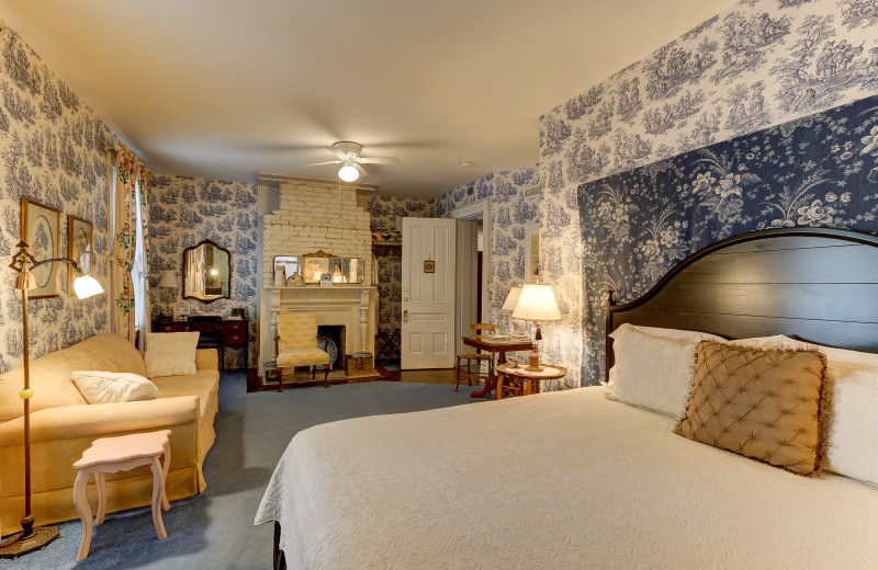 Guest room at C.W. Worth House Bed & Breakfast.