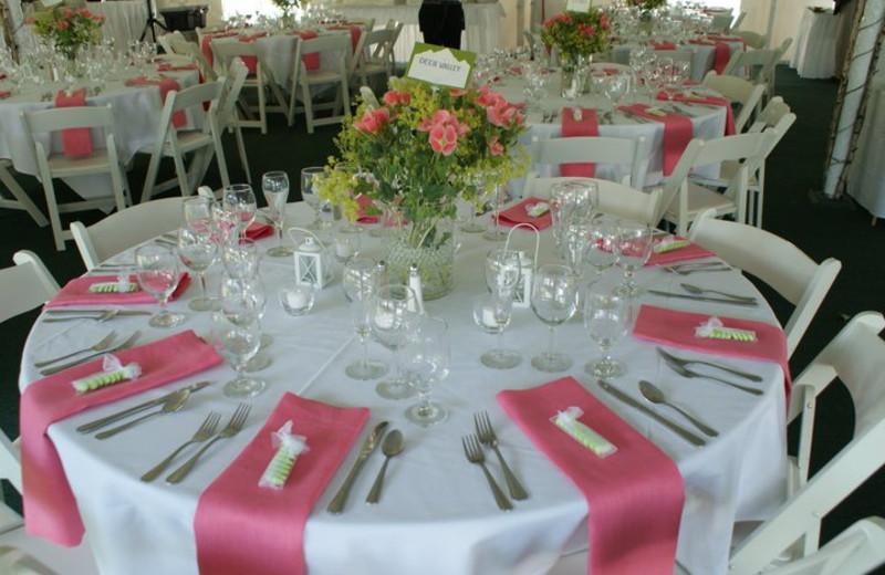 Wedding Table at Echo Lake Inn
