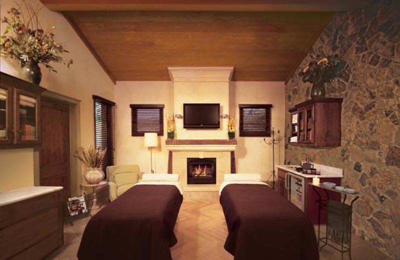 Spa massage at Villagio Inn and Spa.
