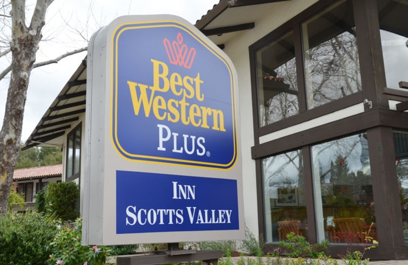 Exterior of Best Western Plus Inn Scotts Valley