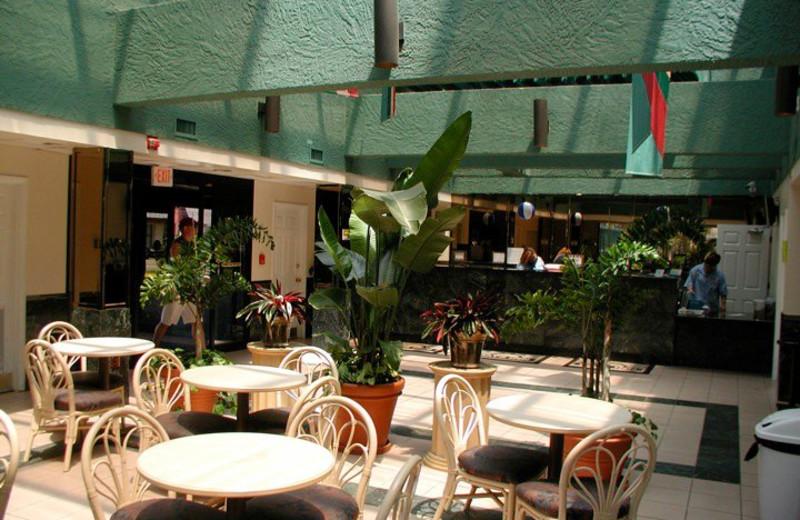 Breakfast Area at Days Inn Panama City Beach