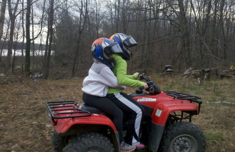 ATV at Tug Hill Resort.