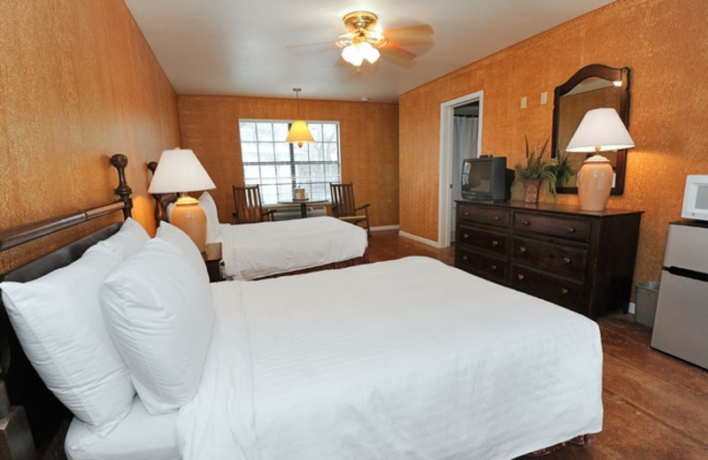 Guest room at Utopia on the River.