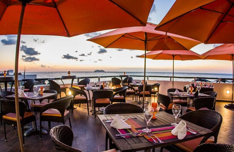 Dining at Coral Princess Hotel & Resort.