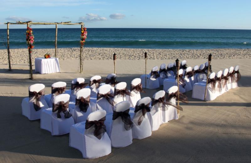 Wedding Ceremony on the Beach at Hyatt Ziva Los Cabos