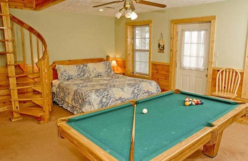 Vacation Rental Interior at Volunteer Cabin Rentals