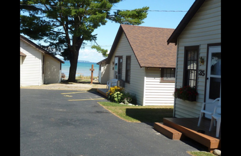 Cottages at The Beach House.