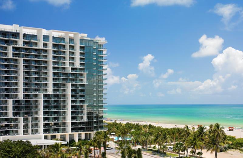 Exterior view of W South Beach.