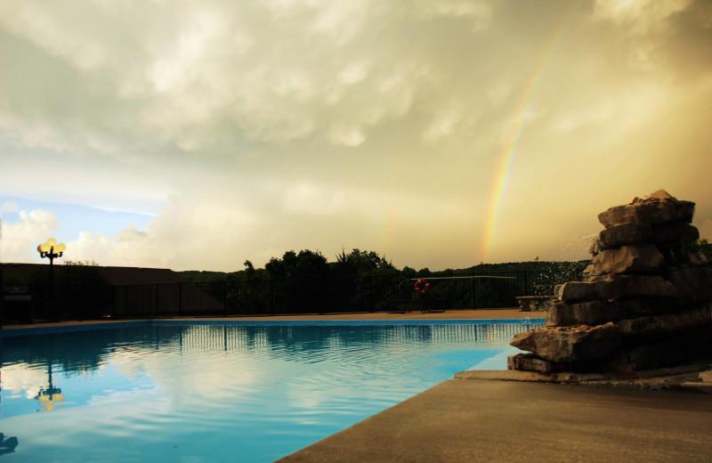 Outdoor pool at Rockwood Resort.
