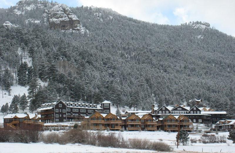 Winter time at Marys Lake Vacation Condos.