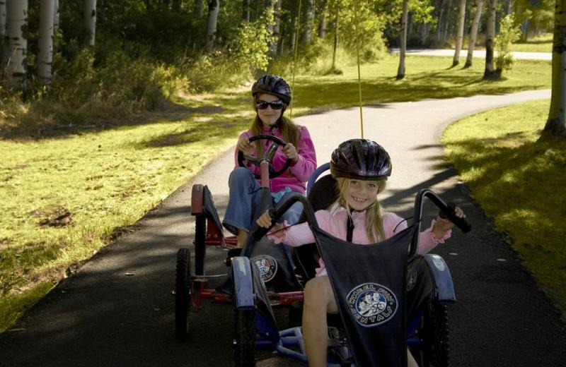 Go-Karts at Black Butte Ranch.