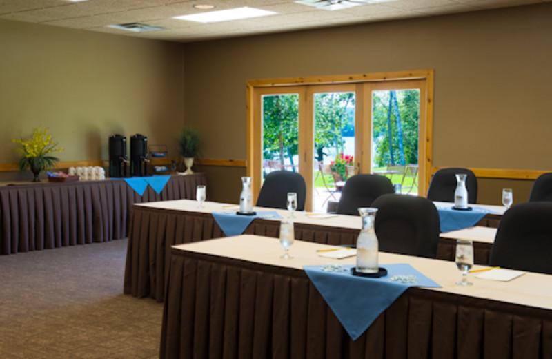 Conference center at Sugar Lake Lodge.