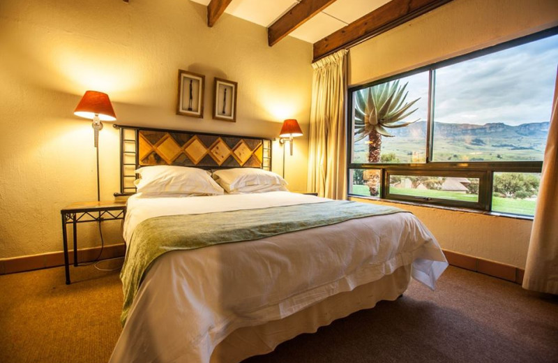 Guest room at Alpine Heath Resort & Conference Village.