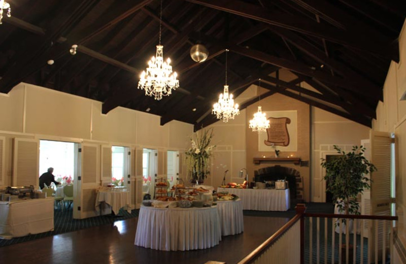 Event dining at Water Gap Country Club.