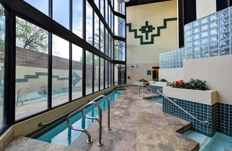 Indoor pool at Best Western Inn Of Tempe.