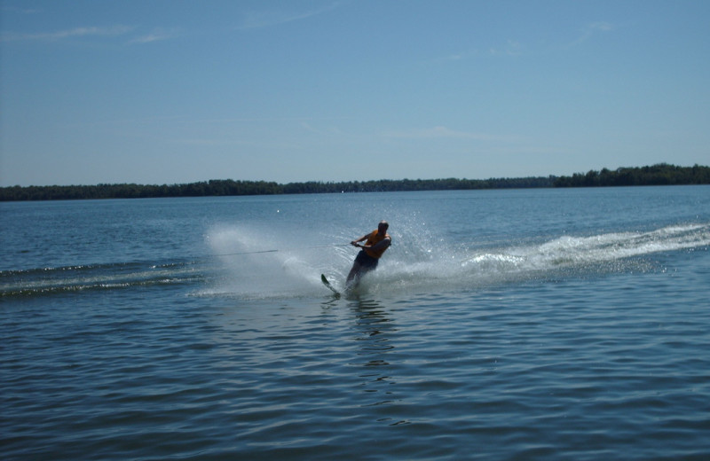 Jet ski at Pocahontas Resort.
