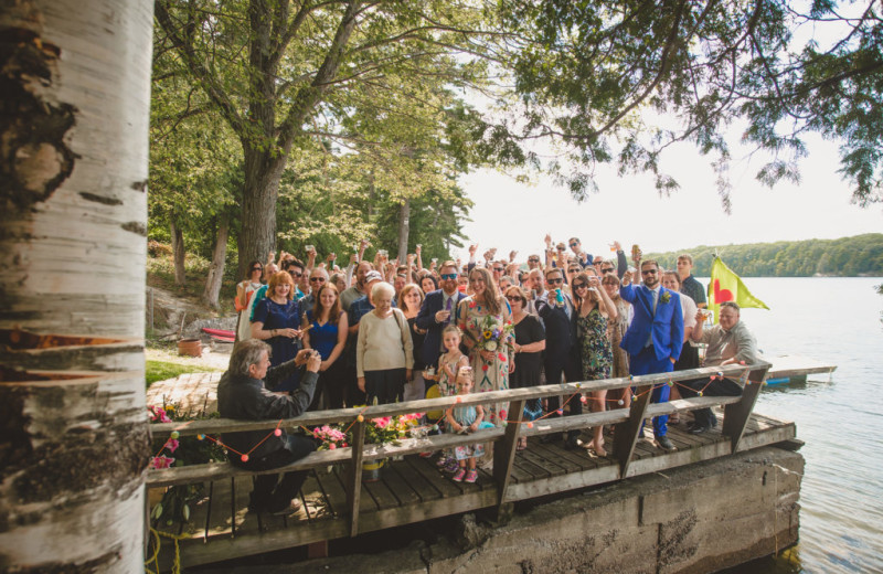 Weddings at Bobs Lake Cottages.