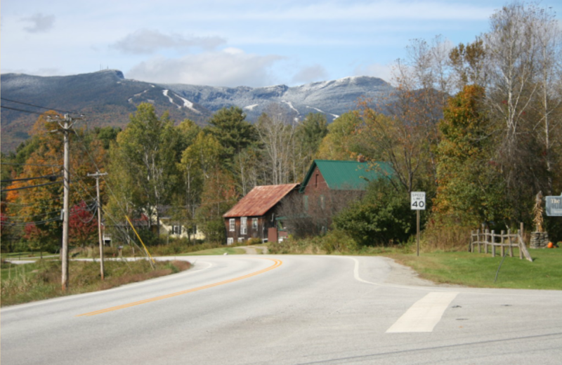 Mountain view at The Arbor Inn.