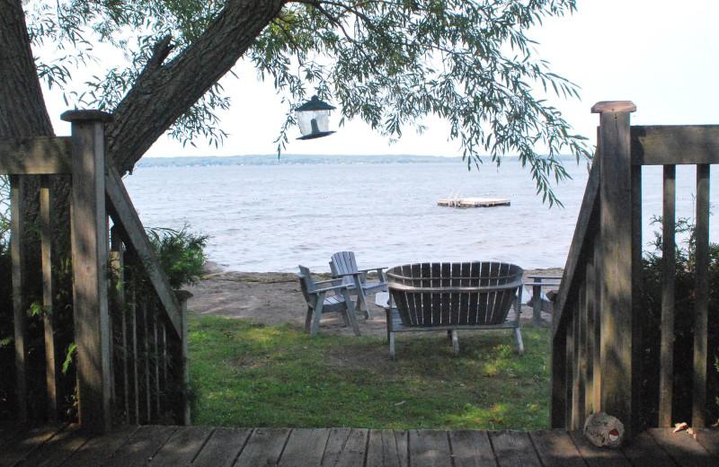Lake view at Golden Beach Resort.